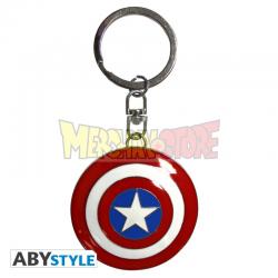 Llavero metálico 3D Marvel - Capitán América