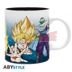 Taza cerámica Dragon Ball Z - Saiyans & Piccolo 320ml