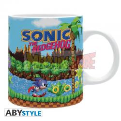 Taza cerámica Sonic - Retro 320ml