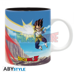Taza cerámica Dragon Ball Z - Goku VS Vegeta 320ml