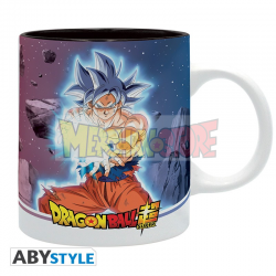 Taza cerámica Dragon Ball Super - Goku UI Vs Jiren 320ml