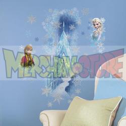 Vinilos adhesivos para pared Frozen - Palacio de Hielo