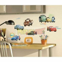 Vinilos adhesivos para pared Disney - Cars 2 - Personajes