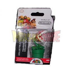 Figura Nintendo Collection 1-4- Planta Piraña 6cm