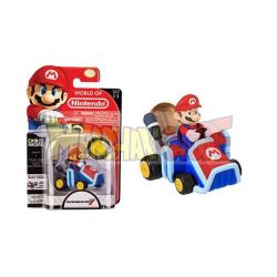 Figura Nintendo - Super Mario Racer 7cm con moneda