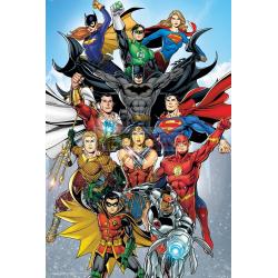 Póster Justice League - La Liga de la Justicia - Characters 61x91.50cm