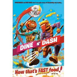 Póster Fortnite - Dine and Dash 61x91.50cm