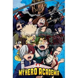 Póster My Hero Academia - Cobalt Blast Group 61x91.50cm