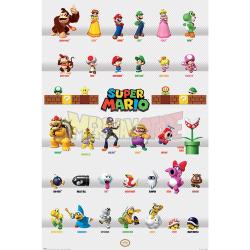 Póster Super Mario - Character 61x91.50cm