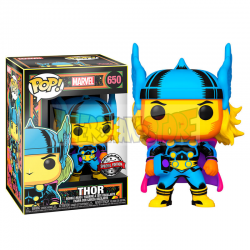 Figura Funko POP! Marvel Black Light - Thor 650