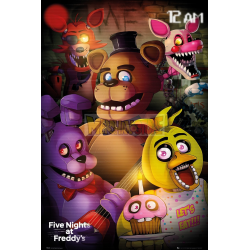 Póster Five Nights At Freddy's (Group Shot) 61x91.50cm