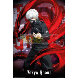 Póster Tokyo Ghoul - Ken Kaneki 61x91.50cm