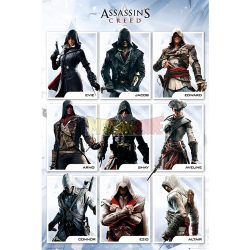 Póster Assassin's Creed - Compilation 61x91.50cm