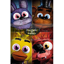 Póster Five Nights At Freddy's - Quad 61x91.50cm