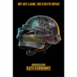 Póster PUBG - Born to Loot 61x91.50cm