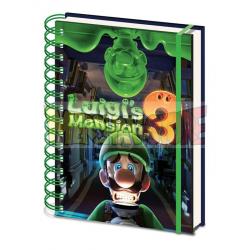 Libreta cuaderno de notas A5 Super Mario - Luigi's Mansion 3
