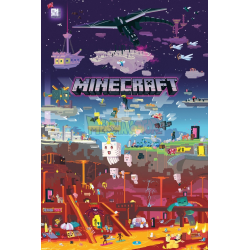 Póster Minecraft - World Beyond 61x91.50cm