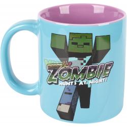 Taza cerámica Minecraft - Zombie 325ml