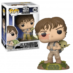 Figura Funko POP! Training Luke with Yoda