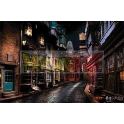 Póster Harry Potter - Diagon Alley 61x91.50cm