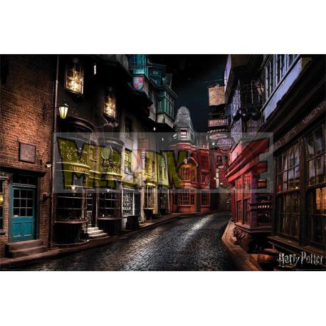 Póster Harry Potter - Diagon Alley 61x91.50cm
