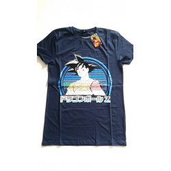 Camiseta adulto Dragon Ball Z - Goku azul Talla S