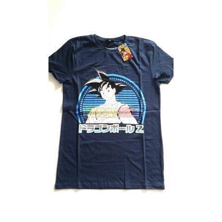 Camiseta adulto Dragon Ball Z - Goku azul Talla S