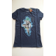 Camiseta adulto Dragon Ball Z - Super Saiyan Goku azul Talla S