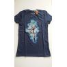 Camiseta adulto Dragon Ball Z - Super Saiyan Goku azul Talla L