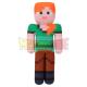 Peluche Minecraft - Alex 30cm