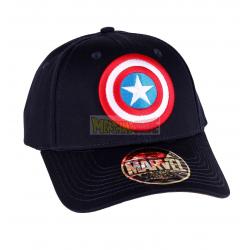 Gorra adulto Marvel - Capitán América logo