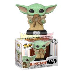 Figura Funko POP! Star Wars The Mandalorian - The Child w/ Frog 379