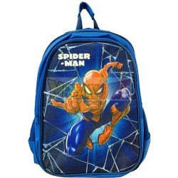 Mochila Spiderman azul 40cm