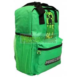 Mochila MineCraft - Creeper 38cm verde