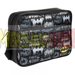 Mochila bandolera DC Comics - Batman 36x30x11.50cm polipiel