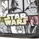 Mochila bandolera Star Wars 36x30x11.50cm polipiel