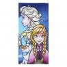 Toalla de algodón Disney - Frozen - Elsa, Anna y Olaf