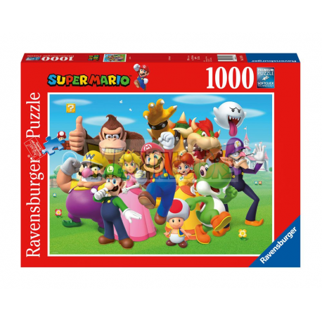 Puzzle Nintendo - Super Mario (1000 piezas)