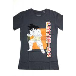 Camiseta adulto Dragon Ball Z - Goku gris Talla S