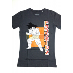Camiseta adulto Dragon Ball Z - Goku gris Talla XXL