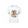Camiseta infantil Naruto blanca 8 años 128cm