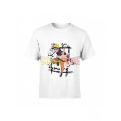 Camiseta infantil Naruto blanca 10 años 140cm