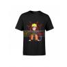 Camiseta infantil Naruto negra 8 años 128cm