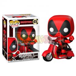 Figura Funko POP! Deadpool & Scooter 45