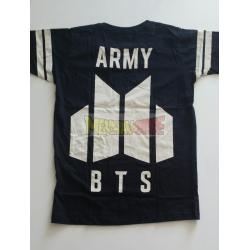 Camiseta BTS - Army Talla S negra