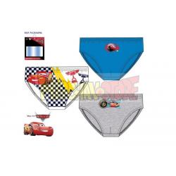 Pack 3 slips niño Disney - Cars 6-8 años