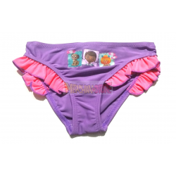 Culetin - bikini niña La Doctora de Juguetes - Doctora Doc 3 años lila