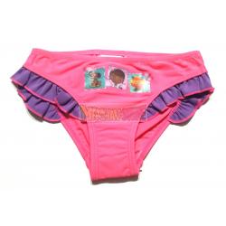 Culetin - bikini niña La Doctora de Juguetes - Doctora Doc 3 años rosa