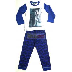 Pijama manga larga niño Star Wars - Stormtrooper 10 años 140cm azul