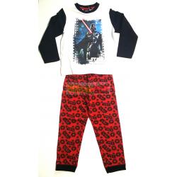 Pijama manga larga niño Star Wars - Darth Vader 10 años 140cm rojo